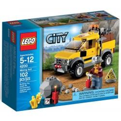 LEGO CITY 4200 Górniczy Wóz Terenowy