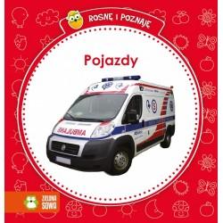 Zielona Sowa - 2767 - Książeczki dla Dzieci - Książeczka Edukacyjna - Rosnę i Poznaję - Pojazdy