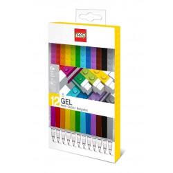 LEGO Zestaw Kolorowych Długopisów Żelowych 12 szt. 51639