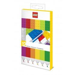 LEGO Zestaw Kolorowych Flamastrów 12 szt. 51644