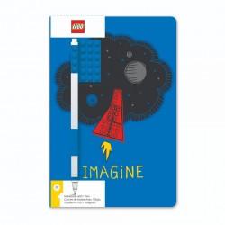 LEGO Notatnik z Płytką i Długopisem IMAGINE 52523