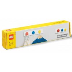 LEGO Wieszaki Na Listwie Czerwony Niebieski Żółty 4111
