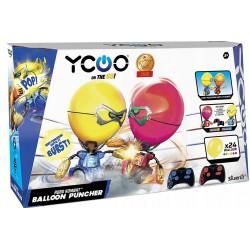 Silverlit Robo Kombat WALCZĄCE ROBOTY Balloon Puncher -Czerwony 88038