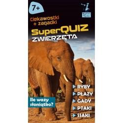 KAPITAN NAUKA Super Quiz ZWIERZĘTA Ciekawostki i Zagadki 7394