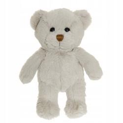 Teddykompaniet Pluszowa Maskotka SZARY MIŚ LOVE 2885