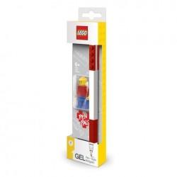 LEGO Długopis Żelowy CZERWONY + Figurka 52602