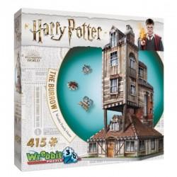 WREBBIT Puzzle 3D Harry Potter Dom Weasleyów 01011