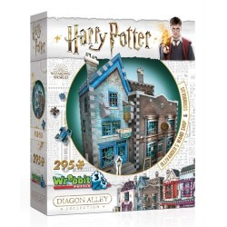 WREBBIT Puzzle 3D Harry Potter Ollivander's Wand & Scribbulus 0508