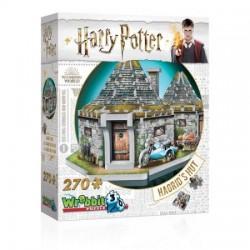 WREBBIT Puzzle 3D Harry Potter Chatka Hagrida 00512