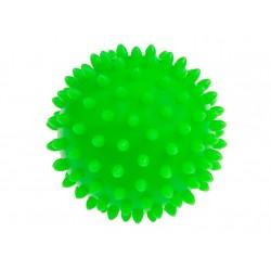 TULLO Jeżyk do Masażu i Rehabilitacji 9 cm Piłka w Kolorze Zielonym 408