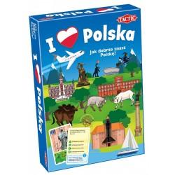 TACTIC Gra Edukacyjna I LOVE POLSKA 56428