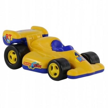 WADER POLESIE Samochód Wyścigówka w Siatce FORMUŁA Żółto-Niebieska 8961