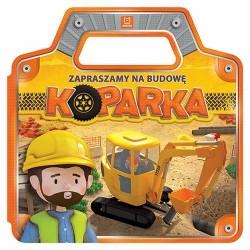 Aksjomat Książeczka dla Dzieci Zapraszamy na Budowę KOPARKA 8007
