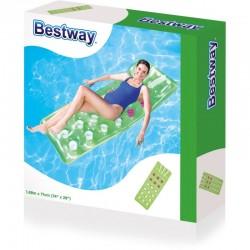 Bestway - 43015 - Materac Nadmuchiwany - Zielony - 188 cm x 71 cm