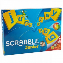 Mattel Gra Słowna, Logiczna SCRABBLE JUNIOR Wersja UK Y9667