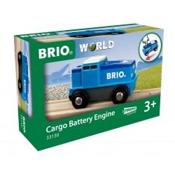 BRIO Lokomotywa Cargo na Baterie 33130
