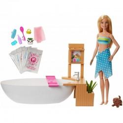 Mattel Barbie RELAKS W KĄPIELI Lalka + Akcesoria GJN32