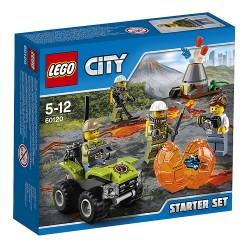 LEGO CITY 60120 Wulkan - Zestaw Startowy NOWOŚĆ 2016