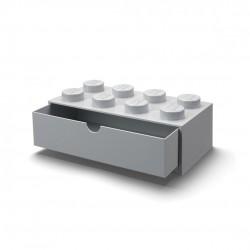 LEGO Pojemnik 8 SZUFLADKA NA BIURKO Szara 2050