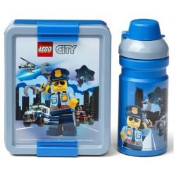 LEGO Pojemnik na Śniadanie + Bidon LUNCH BOX Lego City 4058