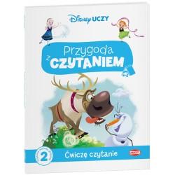 Ameet Książeczka Disney Uczy PRZYGODA Z CZYTANIEM Ćwiczę Czytanie Kraina Lodu Frozen 335168