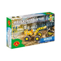 Alexander Klocki Konstrukcyjne MAŁY KONSTRUKTOR Koparka Miner 5584