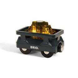 BRIO Świecący Wagon ze Złotem 33896