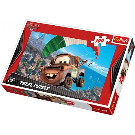 Trefl - 16187 - Puzzle 100 - Latający Złomek