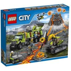 LEGO CITY 60124 Baza Badaczy Wulkanów NOWOŚĆ 2016