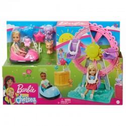Mattel Lalka Barbie Club Chelsea WESOŁE MIASTECZKO GHV82