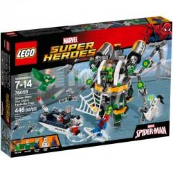 LEGO SUPER HEROES 76059 Spiderman: Pułapka z Mackami Doc Ocka NOWOŚĆ 2016