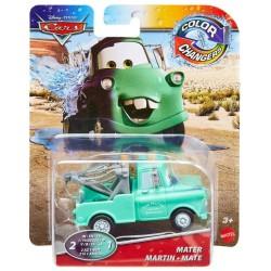 Mattel CARS AUTA Samochodzik Zmieniający Kolor Color Changers ZŁOMEK GNY96