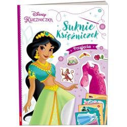 Ameet Książeczka Ubieranki Naklejanki Disney Księżniczka SUKNIE KSIĘŻNICZEK Przyjęcia 333928