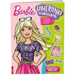 Ameet Książeczka UBIERANKI NAKLEJANKI Barbie 334291