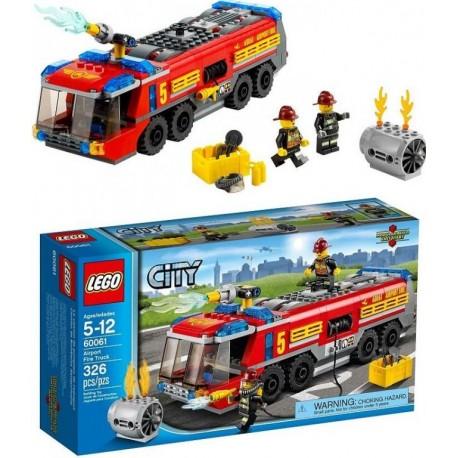LEGO CITY 60061 Lotniskowy Wóz Strażacki