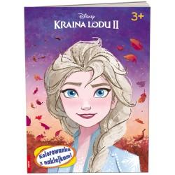 Ameet Książeczka Disney KOLOROWANKA Z NAKLEJKAMI Kraina Lodu II 334161
