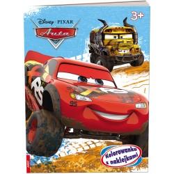 Ameet Książeczka Disney KOLOROWANKA Z NAKLEJKAMI Cars Auta 332303
