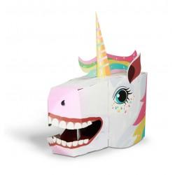 Fiesta Zrób Maskę 3D JEDNOROŻEC 3019