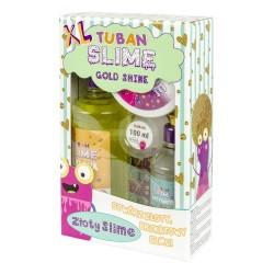 TUBAN Slime Gold Shine ZESTAW DO ROBIENIA SLIME Z BROKATEM 3174