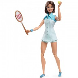 MATTEL Barbie Inspiring Women Series Lalka Kolekcjonerska BILLIE JEAN KING GHT85