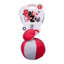 DUMEL BaliBaZoo Zawieszka Piłka Sensoryczna Szaro-Czerwona 80304