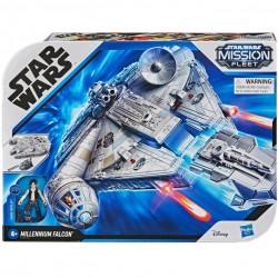 Hasbro Star Wars SOKÓŁ MILLENIUM + Figurka Hana Solo E9343