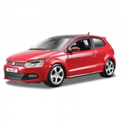 Bburago Metalowy Pojazd VW Polo GTI Mark 5 Skala 1:24 1872