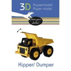 FRIDOLIN Papierowy Model 3D WYWROTKA 11582