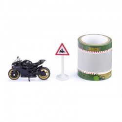 SIKU Pojazdy Metalowe Motocykl DUCATI PANIGALE + TAŚMA 1601