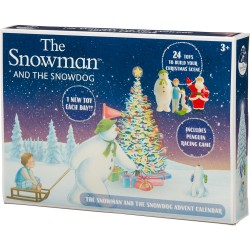 THE SNOWMAN Kalendarz Adwentowy + Gra Planszowa 07067