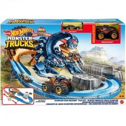 Hot Wheels Monster Trucks TOR SKORPION + Dwa Pojazdy GNB05