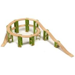 Bigjigs Toys - BJT050 - Rollercoaster - do Kolejek Drewnianych