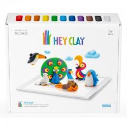 HEY CLAY Masa Plastyczna ZESTAW PTAKI 40037