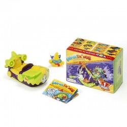 Magic Box Toys Super Zings Super Things FIGURKA + POJAZD SPY JET Seria 6 2796